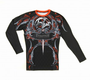 Rashguard bluza MMA długi rękaw Fighter Evolution